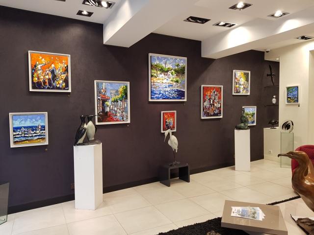 Galerie Laetitia | Intérieur de la galerie