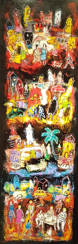 Exposition Daniel Thérasse | Galerie Laetitia
